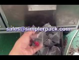 Ginseng tea packaging machinery, nylon triangle teabag packing machine