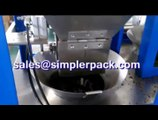 Lavender tea packaging machinery, nylon triangle teabag packing machine