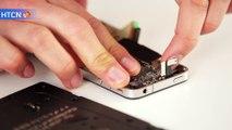 Problème bouton home iPhone 4. Remplacement bouton.