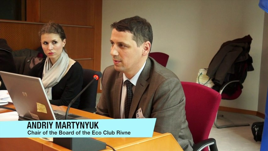 Ageing of nuclear power Plants seminar - Andriy Martynyuk, Eco Club Rivne