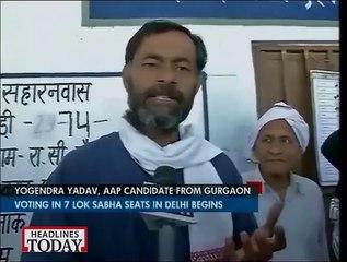 Yogendra Yadav on election 2014