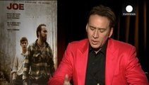 Nicolas Cage stars in 'Joe', an emotional tale of hope overshadowed by a real life loss