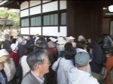 Kyoto Imperial Palace - former home to Japanese emperors opens for spring