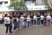 çan myo sanat kültür bilim topluluğundan polis teşkilatı 169. kuruluş yıldönümü için süpriz  kutlama