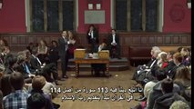 This debate on Islam at the University of Oxford  Was the subject of the debate is: Is Islam a peaceful religion?
