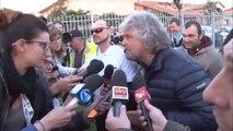 M5S Beppe Grillo a Malagrotta con i parlamentari M5S - MoVimento 5 Stelle