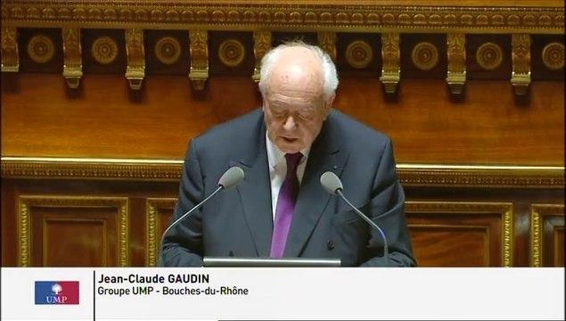 Intervention de Jean-Claude Gaudin suite à la déclaration de politique générale du Gouvernement Valls