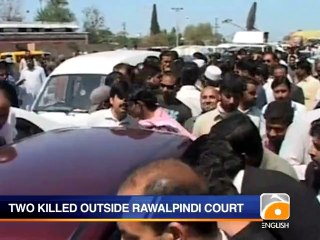 Two killed in firing outside Rawalpindi court