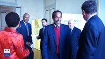 George PAU-LANGEVIN rencontre Jean-Pierre PHILIBERT, Président de la FEDOM