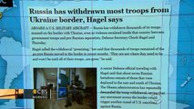 Headlines: Russia withdraws thousands of troops from Ukraine border