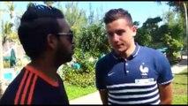 Florian Thauvin rencontre les membres du OM Fan Club 974