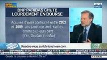 Bilan Hebdo: Chute en bourse de l'action de BNP Paribas, Philippe Béchade et Jean-Louis Cussac, dans Intégrale Bourse – 30/05