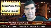 MLB Pick LA Dodgers vs. Pittsburgh Pirates Odds Prediction Preview 5-30-2014