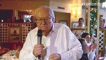 Jean-Marie Le Pen parle de l'affaire DSK
