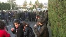 Manifestation contre la venue de Nicolas Sarkozy à St Just-St Rambert