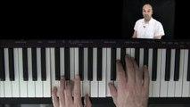 Klavier lernen - Weihnachtslieder am Klavier spielen lernen - Leise rieselt der Schnee am Klavier