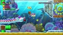 New Super Mario Bros. U - Mer Mentalo - 3-5 : Repaire de Dranguille