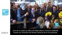 Retour en images sur les blagues de Hollande