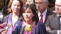 """Municipales à Paris: Anne Hidalgo """"n'a peur de rien ni de personne"""""""