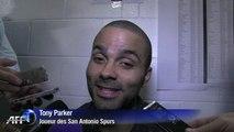 Tony Parker / Victoire des Spurs dans la finale NBA