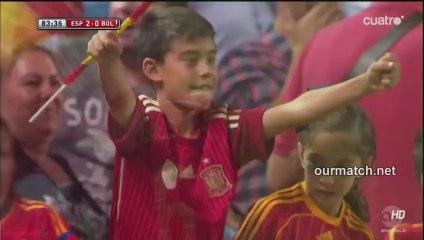 Все голы матча · Испания - Боливия - 2:0