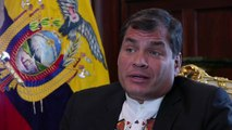 Interview du président de l'Equateur sur l'affaire Snowden