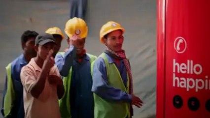 Coca Cola Campaign for South Asian Labourers in Dubai