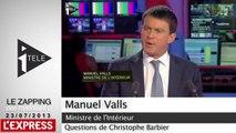 """Hitler et les gens du voyage, """"apologie du nazisme dans la bouche d'un maire"""", pour Valls"""