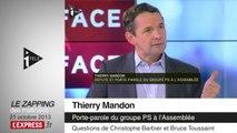 """Affaire Leonarda: symbole d'une """"présidence gélatineuse"""", juge Nicolas Dupont-Aignan"""