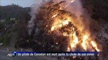 Les incendies en Australie filmés par un drone