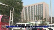 Chine: explosion devant le siège du Parti communiste, 1 mort