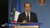 """François Hollande : """"tout sera fait"""" pour que le prêtre soit libéré"""