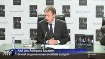 Zapatero revient sur sa gestion de la crise
