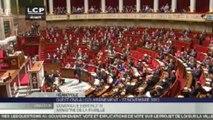 Dominique Bertinotti applaudit à l'Assemblée
