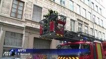 Tempête de Noël: les pompiers mobilisés à Lyon