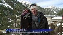 JO-2014: les frères De Le Rue ou le snowboard extrême