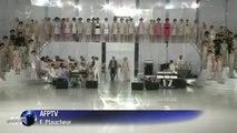Haute couture: les images du défilé Chanel