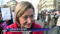 Manif pour Tous: entre 80 000 et 500 000 personnes dans la rue