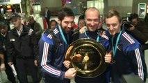 Handball: l'arrivée en france des triple champions d'Europe