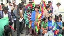 Bolivie: la deuxième journée nationale de mastication de feuilles de coca