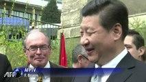 Xi Jinping visite l'Institut franco-chinois de Lyon