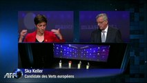 Premier débat des candidats à la présidence de la Commission européenne