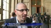 Agression homophobe: Wilfried et Olivier face à leurs agresseurs