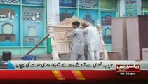 Engraved furniture in swat valley Pakistan Sherin Zada Express News Swat