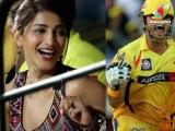 Shruti Haasan in love with Cricketer Suresh Raina