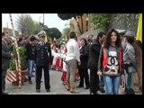 Napoli - Manifestazione scuola Scampia pro agricoltura -live- (12.04.14)
