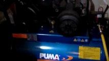 Máy nén khí  Đài Loan PK 30120, công suất 3HP, Lưu lượng khí nén 465 l/phút, Bình chứa khí 120 l