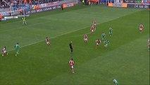 But BRANDAO (51ème) - Stade de Reims - AS Saint-Etienne - (2-2) - 13/04/14 - (SdR-ASSE)