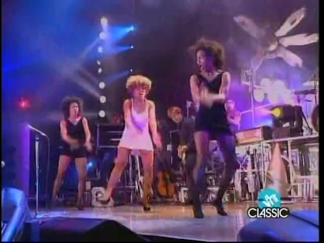 Tina Turner - Proud Mary,  Roling On The River (High Quality Video From dvd 2nafish)