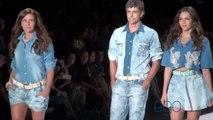 Reynaldo Gianecchini, Giovanna Antonelli e Tainá Müller desfilaram para a grife TNG, no Fashion Rio